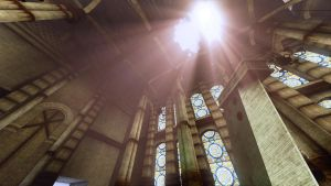 FF7 Sector 5 Church UDK by Laggyzaki