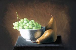 pears and grapes by ArtbyJOgle