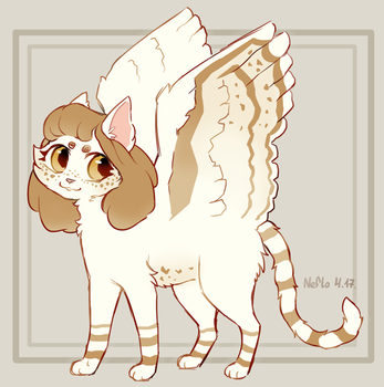 Adopt | Cappuccino Kitty [CLOSED] by Neflo