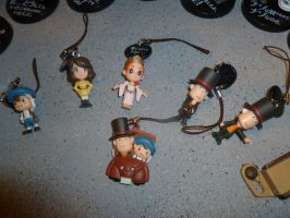 Professor Layton Figurines 2 by Linksliltri4ce