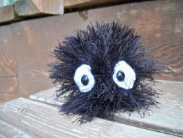 Amigurumi Soot Ball by pixie--stick