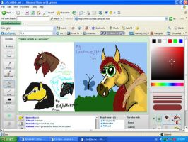 iScribble with friends by CarnationRose