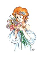 Bouquet of Flowers by Aiko-Katon