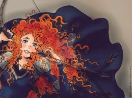 BRAVE Princess Merida by dokinana
