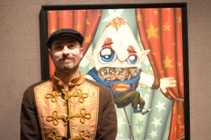 Me and my painting by maximusmagno