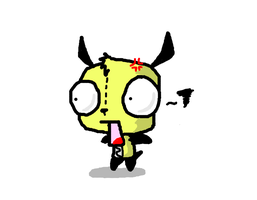 gir's reaction to nudity by Koala-Sam