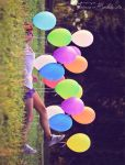 The house of Baloons by Squinsy