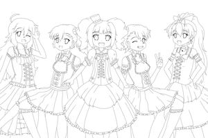 Lolita Master Line Art by Damaged927