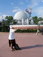 Epcot Spaceship Earth Stock 25 by AreteStock