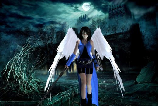 Angel Rinoa Heartilly by MR-ENERGYZONA