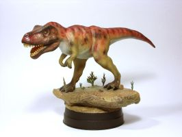 T-Rex Repainted I by Zero-Cannard