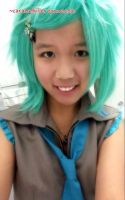 Hatsune Mikuo Cosplay by Caramelkiller Tanweenie by tanweenie