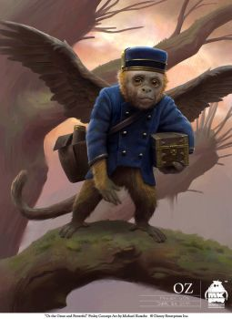 Oz the Great and Powerful - Finley by michaelkutsche