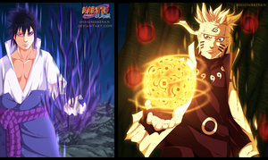 Naruto 674 - double attack by DesignerRenan