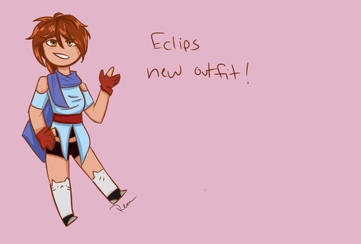 Eclips new outfit by ReulletHollow