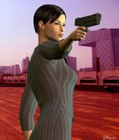 My Name Is Jane Bond by Skygix