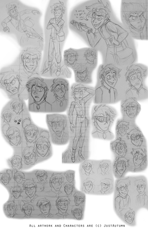 Incarnation Sketchdump 3