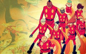 Cyborg 009 Desktop by kscat5220