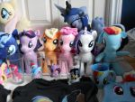 some of my plushie of mlp by poupouch1234567890