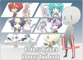 CUSTOM AUCTION 4 [CLOSED] by resadoptables