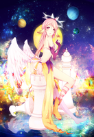 No Game No Life: Jibril by ryetou