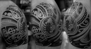 Polynesian cover-up by strangeris