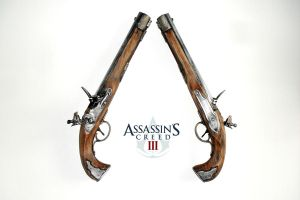 Connor's dual pistols by RBF-productions-NL