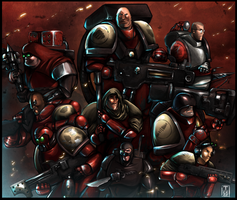 Red Team 40k by t-cezar