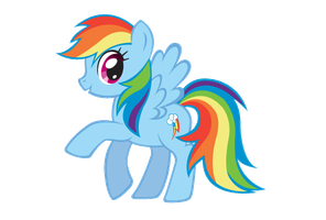 Rainbow Dash PNG by mituesposito