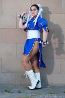 Chun Li Street Fighter by GuenDoourden
