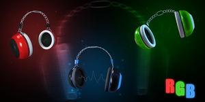 Headphones concept by JARV69