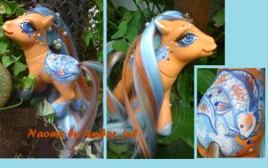 My little pony Koi fish Naomi by AmbarJulieta