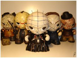 Pinhead and friends by Flame-Ivy