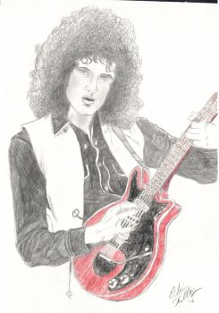 Brian May by liloved1