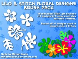 LnS Brush Pack for The GIMP by MiriamTheBat