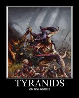 Tyranids by AngryFlashlight