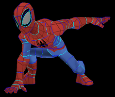 Spider-Man (Disney Infinity) Papercraft by Sabi996