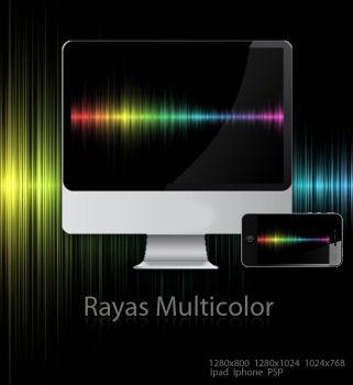 Rayas multicolor by acg3fly