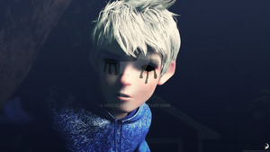 Eyeless Jack Frost by HiccElsa32