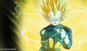 vegeta super saiyajin by salvamakoto