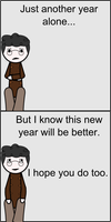 Depressed but Happy New Year by Sandman-Ivan