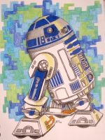 R2D2 by lovely-mint-jelly