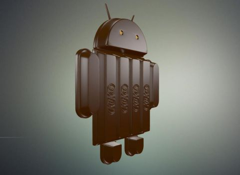 Android Kitkat by chaitanyak