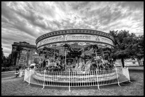 On A Carousel by GaryTaffinder