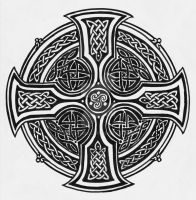 Celtic Cross by Theophilia