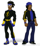 Knickers22 Commission: Static Shock/Virgil Hawkins by Little-Katydid