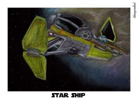 Star ship by thingrodiel