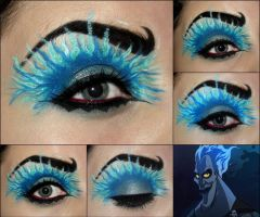 Eyes Make Up with Circle Lenses by askuniqso