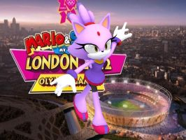 blaze at the olympic games by eggmanteen