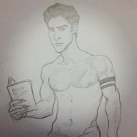 Scott McCall sketch by TerryBlas